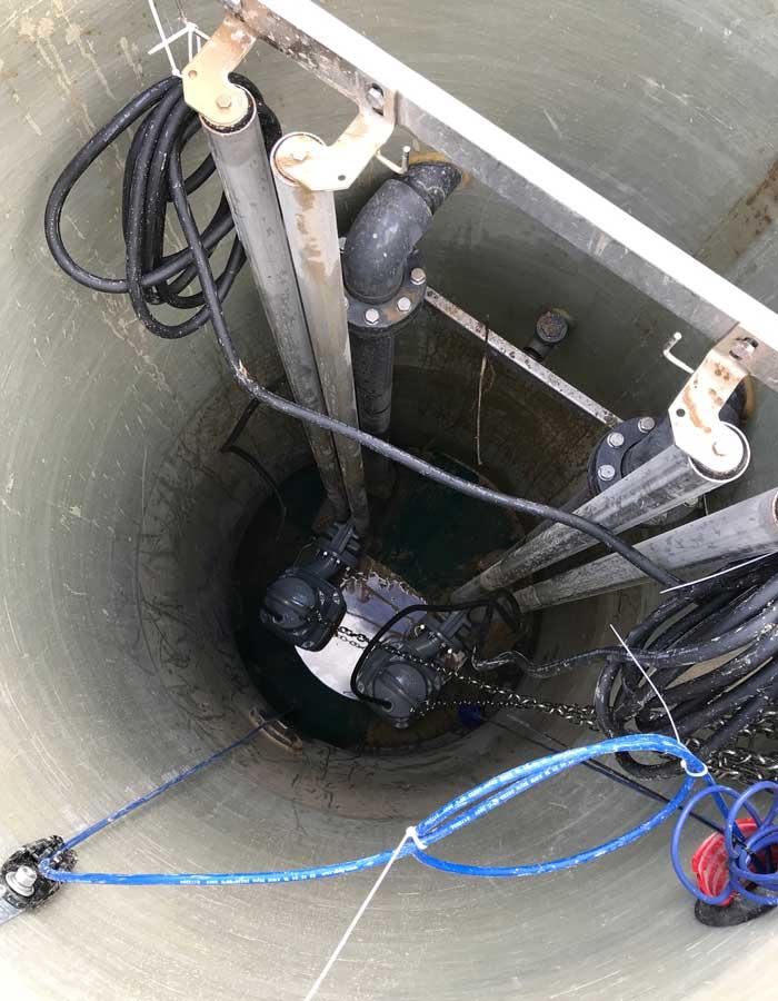expert dans la gestion des eaux en France et dans la Drôme installe des stations de relevage
